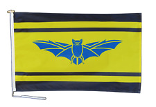 More details for brecknockshire sir frycheiniog flag with rope and toggle - various sizes
