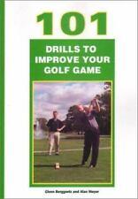 101 Drills to Improve Your Golf Game, Alan Moyer, Glenn Berggoetz, Good Book