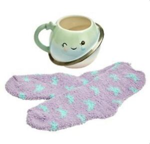 New Sainsbury's Cute Planet Cup & Cosy Sock Gift Set