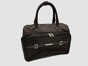 $199 Chaps Men's Brown Overnight Duffle Travel Weekender Luggage Carryall Bag