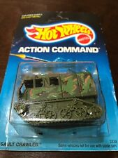 Hot Wheels Action Command - Assault Crawler - 3338 - card dated 1988