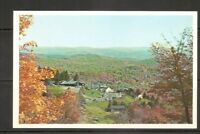 USA . The Molly Stark Trail Of Southern Vermont . Vintage postcard
