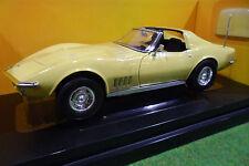 CHEVROLET CORVETTE COUPE 427 cabriolet 1968 1/18 AMERICAN MUSCLE ERTL 36833 voit
