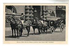 Royal Semi State Road Landau - Photo Postcard c1936