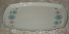 "Vtg Franciscan Maytime Pattern 13"" Platter Family China 50's Pink & Blue Flowers"