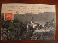 cpa 06 monastere de laghet route de la corniche