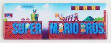 Super Mario Bros Marquee FRIDGE MAGNET (1.5 x 4.5 inches) arcade video game