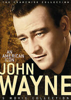 John Wayne: An American Icon Collection (DVD, 2006, 2-Disc Set) New/Sealed