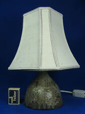 SMALL 60´s KRÖSSELBACH KERAMIK TABLE LAMP DESIGN CLÄRE ZANGE TISCH LAMPE
