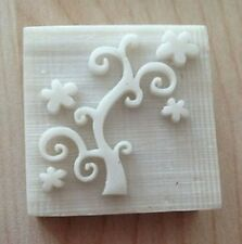 8003 Flower Tree Handmade Resin Soap Stamp Seal Soap Mold Mould
