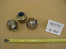 """Hart 3/4"""" SS Threaded Dielectric Union Lot of 3 -z152-3"""