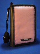 "Nintendo DS ""Switch N Carry"" Pink and Black Carrying Case with Chamois Cloth"