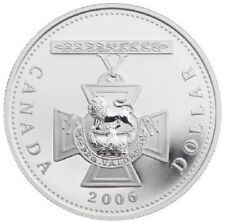 2006 Canada Proof Fine Silver Dollar - 150th Anniversary of the Victoria Cross