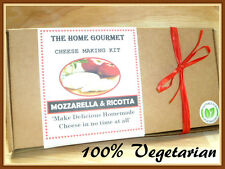 Make Your Own Vegetarian 'Mozzarella & Ricotta' Cheese Kit *Free Delivery*