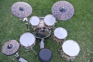 "DW USA Collector's Series 45th ""Sapphire"" Anniversary Drum Set STRADIVARI LEGNO!"