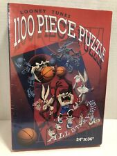 Vintage Looney Tunes All Star Playoff 1100 piece Puzzle Warner Bros SEALED