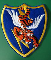 23RD FIGHTER GROUP FELT SQUADRON PATCH- FLYING TIGERS