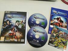 DC UNIVERSE ONLINE JUEGO PARA PC 2 X DVD-ROM EN ESPAÑOL - FALTA EL DVD 1 - DC