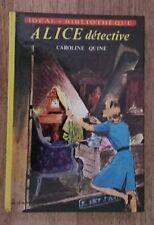 IB - ALICE DÉTECTIVE Caroline Quine 1973 - TTBE