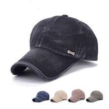 Unbranded Cotton Blend Solid Pattern Hats for Men