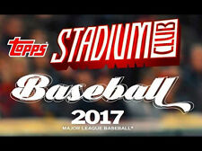 2017 Stadium Club -Complete Your Set- PICK ANY 10 (FREE SHIPPING OFFER)