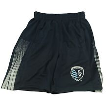 Sporting Kansas City Kids Youth Size Official MLS shorts New With Tags