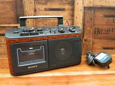 Sony CFM-A50 Portable Radio Cassette Recorder Player Impaired Sight / Hearing