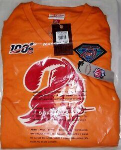 Mitchell & Ness 75 NFL Vintage Tampa Bay Buccaneers Jersey Sz 2XL Men NWT In Bag