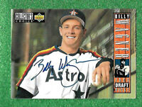 1993 Upper Deck Baseball Billy Wagner Rookie #29 AUTOGRAPHED as shown