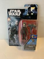 STAR WARS ROGUE ONE SGT JYN ERSO (JEDHA OUTFIT) 3.75IN NEW IN PACKAGE