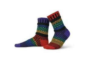 Mismatched Recycled Cotton Socks Gemstone