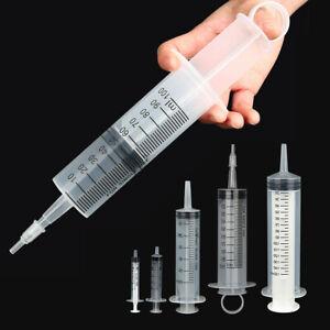 2ml 5ml 60ml 100ml 150ml Plastic Hydroponics Nutrient Reusable Measuring Syringe