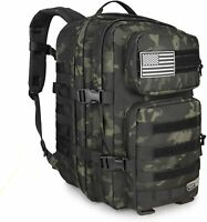 LEISONTAC Military tactical backpack army assault bag waterproof MOLLE bag