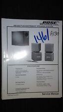 Bose Service Manual Acoustimass -500 Speaker System original repair book