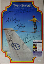 SIGNED DREAM THEATER AUTOGRAPHED A DRAMATIC TURN OF EVENTS CD POSTER JSA #N36240