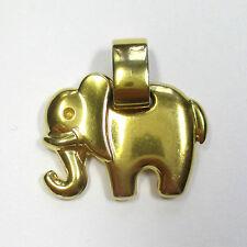 115 - Aparter Anhänger Elefant aus Gelbgold 333 - 2139