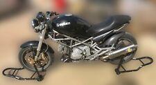 Coppia di cavalletti alza moto da per Ducati Monster 600 620 1000 1100 695 696