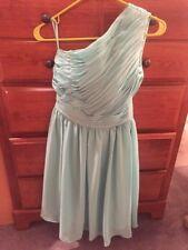 Etsy Aqua Womens Knee Length Dress Size 2 (5325)