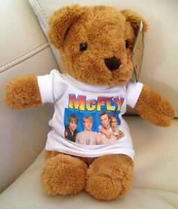 McFLY 8 inch cuddly TEDDY BEAR