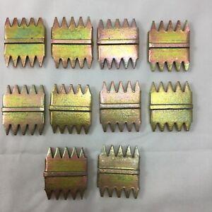 """SCUTCH COMBS X 10  1"""" 25mm 5 X tpi high quality fits 25 mm chisels gs3 tool uk"""