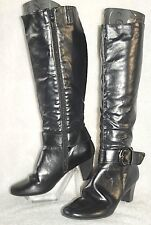 "LIFE STRIDE ~ ""Unison"" Black Comfy & Elegant Knee High Boots Sz 10M * EXCELLENT"