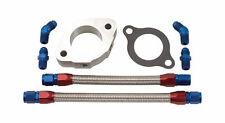 Edelbrock 8095 Water neck Spacer Bypass Kit thermostat spacer Sbc