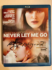 SIGNED IN PERSON  KAZUO ISHIGURO  Never Let Me Go Blu-ray Disc 2011 NOBEL WINNER