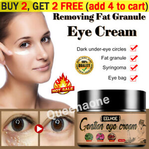 Natural Eye Cream Remove Dark Circle Bags Under The Eyes Prevent Fat Particles✅