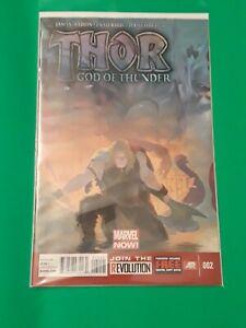 THOR GOD OF THUNDER 2 #2 1st App Gorr the God-Butcher Marvel read description.
