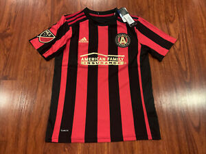 2020-21 Adidas Youth Atlanta United FC Home Soccer Jersey Medium M MLS US Boys