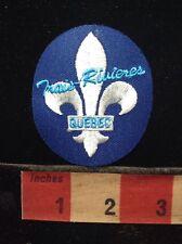 CANADA PATCH - (TROIS ?) TRAIS-RIVIERES QUEBEC - Fleur-de-lis Flower Lily 59GG