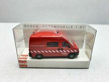 Peugeot Boxer Pompiers  Busch 1:87
