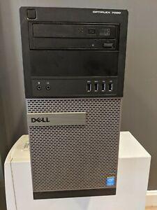 Dell OptiPlex 7020 MT Intel Core i7-4790 3.60GHz 8GB RAM 500GB Win 8 Mini Tower