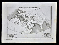 c 1835 Levasseur Map - Ancient World - Europe Asia Africa Arabia Italy Greece